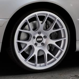 BBS CH-R titan matt Felge mit Reifen grau in 20Zoll Winterfelge Alufelge auf silbernem BMW 520i Typ E39 (Limousine) 523i 525i 528i 530i 520d 525tds 530d 525d (Touring) 535i 540i 525td ⬇️ mit 15mm Tieferlegung ⬇️ Industriehalle 1 Thumbnail