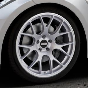 BBS CH-R titan matt Felge mit Reifen grau in 20Zoll Winterfelge Alufelge auf silbernem Tesla Model S Typ 002 ⬇️ mit 15mm Tieferlegung ⬇️ Industriehalle 1 Thumbnail