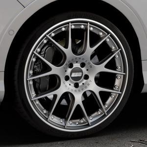 BBS CH-RII platinum/schwarz Felge mit Reifen Titan mehrfarbig in 21Zoll Winterfelge Alufelge auf silbernem Ford Kuga II Facelift (15->) (17->) ⬇️ mit 15mm Tieferlegung ⬇️ Industriehalle 1 Thumbnail