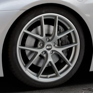 BBS CI-R platinum silber Felge mit Reifen in 20Zoll Winterfelge Alufelge auf silbernem BMW i8 Coupe (BMWi-2) ⬇️ mit 15mm Tieferlegung ⬇️ Industriehalle 1 Thumbnail
