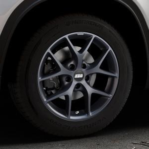 BBS SR himalaya-grau matt Felge mit Reifen in 16Zoll Winterfelge Alufelge auf silbernem Suzuki Vitara Typ LY ⬇️ mit 15mm Tieferlegung ⬇️ Industriehalle 1 Thumbnail