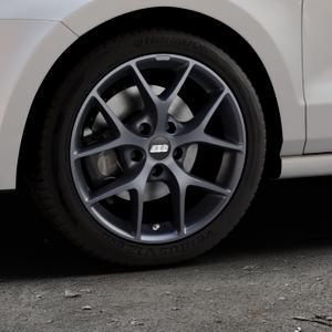 BBS SR himalaya-grau matt Felge mit Reifen in 16Zoll Winterfelge Alufelge auf silbernem Volkswagen (VW) Polo V Typ 6C 1,0l 44kW (60 PS) 55kW (75 1,2l TSI 66kW (90 81kW (110 1,4l TDI 77kW (105 110kW (150 70kW (95 ⬇️ mit 15mm Tieferlegung ⬇️ Industriehalle 1 Thumbnail