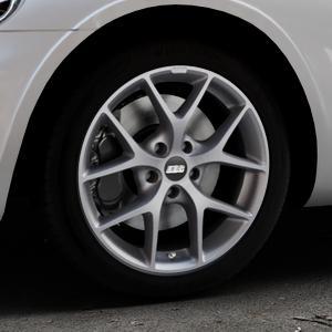 BBS SR himalaya-grau matt Felge mit Reifen in 17Zoll Winterfelge Alufelge auf silbernem Chrysler PT Cruiser Cabriolet ⬇️ mit 15mm Tieferlegung ⬇️ Industriehalle 1 Thumbnail