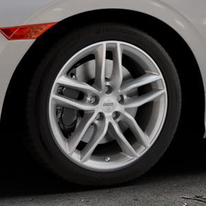 BBS SX brillantsilber Felge mit Reifen in 17Zoll Winterfelge Alufelge auf silbernem Honda Civic 10 Schrägheck (FC) ⬇️ mit 15mm Tieferlegung ⬇️ Industriehalle 1 Thumbnail