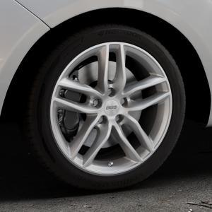 BBS SX brillantsilber Felge mit Reifen in 17Zoll Winterfelge Alufelge auf silbernem Hyundai ix20 Typ JC ⬇️ mit 15mm Tieferlegung ⬇️ Industriehalle 1 Thumbnail