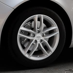BBS SX brillantsilber Felge mit Reifen in 17Zoll Winterfelge Alufelge auf silbernem Opel Insignia I Sports Tourer Facelift ⬇️ mit 15mm Tieferlegung ⬇️ Industriehalle 1 Thumbnail