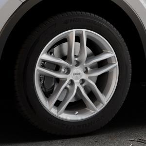 BBS SX brillantsilber Felge mit Reifen in 17Zoll Winterfelge Alufelge auf silbernem Toyota C-HR Typ AX1T(EU,M) AX1T(EU,M)-TMG ⬇️ mit 15mm Tieferlegung ⬇️ Industriehalle 1 Thumbnail
