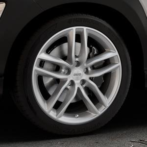 BBS SX brillantsilber Felge mit Reifen in 18Zoll Winterfelge Alufelge auf silbernem Hyundai Kona Typ OS ⬇️ mit 15mm Tieferlegung ⬇️ Industriehalle 1 Thumbnail