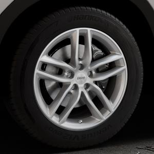 BBS SX brillantsilber Felge mit Reifen in 18Zoll Winterfelge Alufelge auf silbernem Mazda CX-5 Typ KE ⬇️ mit 15mm Tieferlegung ⬇️ Industriehalle 1 Thumbnail