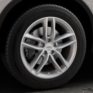 BBS SX brillantsilber Felge mit Reifen in 18Zoll Winterfelge Alufelge auf silbernem Volvo XC40 Typ X ⬇️ mit 15mm Tieferlegung ⬇️ Industriehalle 1 Thumbnail