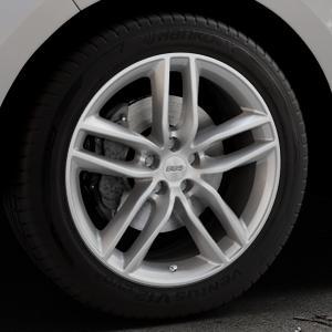 BBS SX brillantsilber Felge mit Reifen in 19Zoll Winterfelge Alufelge auf silbernem Ford Edge Typ SBF ⬇️ mit 15mm Tieferlegung ⬇️ Industriehalle 1 Thumbnail