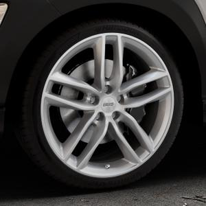 BBS SX brillantsilber Felge mit Reifen in 19Zoll Winterfelge Alufelge auf silbernem Hyundai Kona Typ OS ⬇️ mit 15mm Tieferlegung ⬇️ Industriehalle 1 Thumbnail