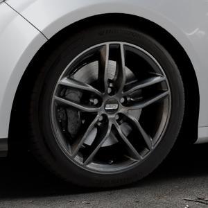 BBS SX kristall-schwarz Felge mit Reifen in 17Zoll Winterfelge Alufelge auf silbernem Ford Focus III Typ DYB (Schrägheck) (Stufenheck) Facelift ⬇️ mit 15mm Tieferlegung ⬇️ Industriehalle 1 Thumbnail