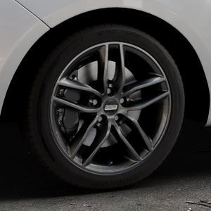 BBS SX kristall-schwarz Felge mit Reifen in 17Zoll Winterfelge Alufelge auf silbernem Hyundai ix20 Typ JC ⬇️ mit 15mm Tieferlegung ⬇️ Industriehalle 1 Thumbnail