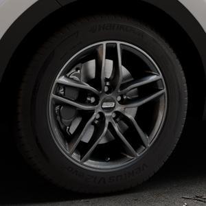 BBS SX kristall-schwarz Felge mit Reifen in 17Zoll Winterfelge Alufelge auf silbernem Kia Sportage IV Typ QL QLE ⬇️ mit 15mm Tieferlegung ⬇️ Industriehalle 1 Thumbnail