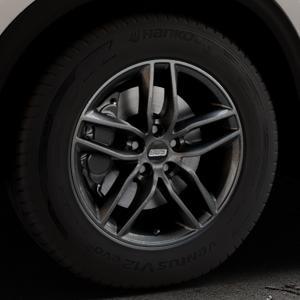 BBS SX kristall-schwarz Felge mit Reifen in 17Zoll Winterfelge Alufelge auf silbernem Mazda CX-5 Typ KF ⬇️ mit 15mm Tieferlegung ⬇️ Industriehalle 1 Thumbnail
