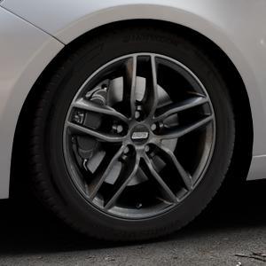 BBS SX kristall-schwarz Felge mit Reifen in 17Zoll Winterfelge Alufelge auf silbernem Peugeot 308 II Typ L Facelift ⬇️ mit 15mm Tieferlegung ⬇️ Industriehalle 1 Thumbnail