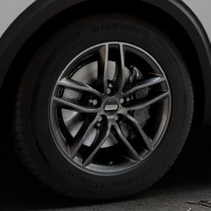 BBS SX kristall-schwarz Felge mit Reifen in 17Zoll Winterfelge Alufelge auf silbernem Peugeot 5008 Typ M ⬇️ mit 15mm Tieferlegung ⬇️ Industriehalle 1 Thumbnail