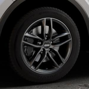 BBS SX kristall-schwarz Felge mit Reifen in 17Zoll Winterfelge Alufelge auf silbernem Toyota C-HR Typ AX1T(EU,M) AX1T(EU,M)-TMG ⬇️ mit 15mm Tieferlegung ⬇️ Industriehalle 1 Thumbnail