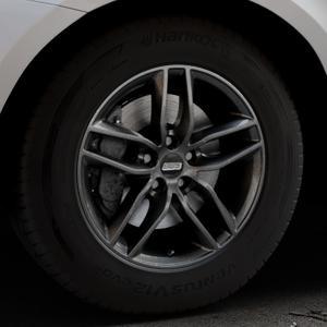 BBS SX kristall-schwarz Felge mit Reifen in 17Zoll Winterfelge Alufelge auf silbernem Volvo XC60 Typ D Facelift ⬇️ mit 15mm Tieferlegung ⬇️ Industriehalle 1 Thumbnail