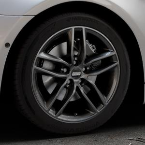 BBS SX kristall-schwarz Felge mit Reifen in 18Zoll Winterfelge Alufelge auf silbernem BMW 640i Typ F13 (Coupe) 650i 640d xDrive ⬇️ mit 15mm Tieferlegung ⬇️ Industriehalle 1 Thumbnail