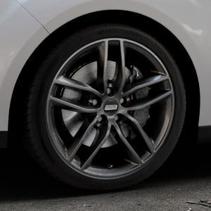 BBS SX kristall-schwarz Felge mit Reifen in 18Zoll Winterfelge Alufelge auf silbernem Ford C-Max II Typ DXA (10->) ⬇️ mit 15mm Tieferlegung ⬇️ Industriehalle 1 Thumbnail