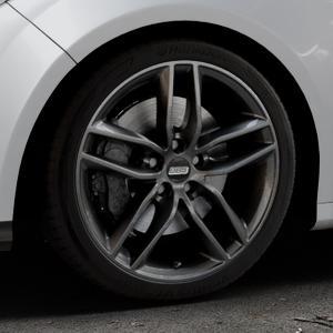 BBS SX kristall-schwarz Felge mit Reifen in 18Zoll Winterfelge Alufelge auf silbernem Ford Focus III Typ DYB (Schrägheck) (Stufenheck) Facelift ⬇️ mit 15mm Tieferlegung ⬇️ Industriehalle 1 Thumbnail