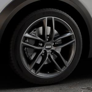 BBS SX kristall-schwarz Felge mit Reifen in 18Zoll Winterfelge Alufelge auf silbernem Mazda CX-3 Typ DJ1 ⬇️ mit 15mm Tieferlegung ⬇️ Industriehalle 1 Thumbnail