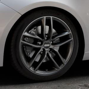BBS SX kristall-schwarz Felge mit Reifen in 18Zoll Winterfelge Alufelge auf silbernem Peugeot 308 II Typ L Facelift ⬇️ mit 15mm Tieferlegung ⬇️ Industriehalle 1 Thumbnail