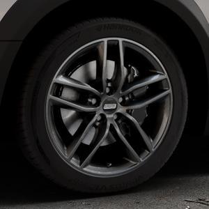 BBS SX kristall-schwarz Felge mit Reifen in 18Zoll Winterfelge Alufelge auf silbernem Peugeot 508 Typ 8 RXH Facelift ⬇️ mit 15mm Tieferlegung ⬇️ Industriehalle 1 Thumbnail