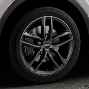 BBS SX kristall-schwarz Felge mit Reifen in 18Zoll Winterfelge Alufelge auf silbernem Toyota C-HR Typ AX1T(EU,M) AX1T(EU,M)-TMG ⬇️ mit 15mm Tieferlegung ⬇️ Industriehalle 1 Thumbnail