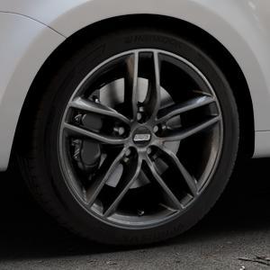 BBS SX kristall-schwarz Felge mit Reifen in 18Zoll Winterfelge Alufelge auf silbernem Volkswagen (VW) Sharan III Typ 7N (15->) ⬇️ mit 15mm Tieferlegung ⬇️ Industriehalle 1 Thumbnail