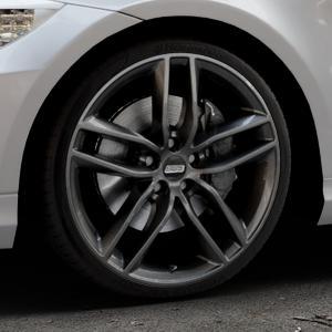 BBS SX kristall-schwarz Felge mit Reifen in 19Zoll Winterfelge Alufelge auf silbernem BMW 318i Typ E91 (Touring) 320i 325i 330i 320d 330d 318d 325xi 330xi 335i 335d 325d 330xd 335xi 320xd 316d 316i ⬇️ mit 15mm Tieferlegung ⬇️ Industriehalle 1 Thumbnail