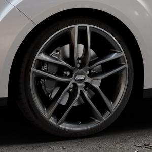 BBS SX kristall-schwarz Felge mit Reifen in 19Zoll Winterfelge Alufelge auf silbernem Ford Grand C-Max Typ DXA Facelift (15->) ⬇️ mit 15mm Tieferlegung ⬇️ Industriehalle 1 Thumbnail