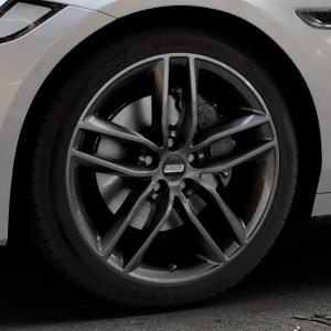 BBS SX kristall-schwarz Felge mit Reifen in 19Zoll Winterfelge Alufelge auf silbernem Jaguar XF Sportbrake Typ JB ⬇️ mit 15mm Tieferlegung ⬇️ Industriehalle 1 Thumbnail