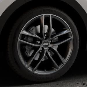 BBS SX kristall-schwarz Felge mit Reifen in 19Zoll Winterfelge Alufelge auf silbernem Kia Sportage IV Typ QL QLE ⬇️ mit 15mm Tieferlegung ⬇️ Industriehalle 1 Thumbnail