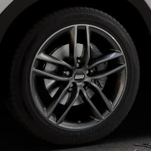 BBS SX kristall-schwarz Felge mit Reifen in 19Zoll Winterfelge Alufelge auf silbernem Mazda CX-5 Typ KE ⬇️ mit 15mm Tieferlegung ⬇️ Industriehalle 1 Thumbnail