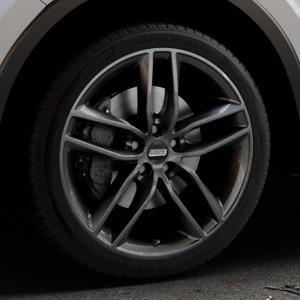 BBS SX kristall-schwarz Felge mit Reifen in 19Zoll Winterfelge Alufelge auf silbernem Toyota C-HR Typ AX1T(EU,M) AX1T(EU,M)-TMG ⬇️ mit 15mm Tieferlegung ⬇️ Industriehalle 1 Thumbnail