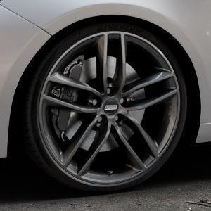BBS SX kristall-schwarz Felge mit Reifen in 20Zoll Winterfelge Alufelge auf silbernem Peugeot 308 II Typ L Facelift ⬇️ mit 15mm Tieferlegung ⬇️ Industriehalle 1 Thumbnail