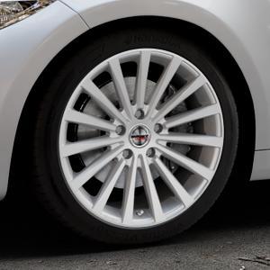 Borbet BLX brilliant silver Felge mit Reifen silber in 18Zoll Winterfelge Alufelge auf silbernem BMW M2 Typ F87 ⬇️ mit 15mm Tieferlegung ⬇️ Industriehalle 1 Thumbnail