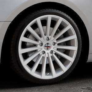 Borbet BLX brilliant silver Felge mit Reifen silber in 19Zoll Winterfelge Alufelge auf silbernem Audi A5 Typ B9 (Coupé) (Cabriolet) ⬇️ mit 15mm Tieferlegung ⬇️ Industriehalle 1 Thumbnail