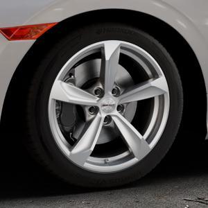 Borbet S brilliant silver Felge mit Reifen silber in 17Zoll Winterfelge Alufelge auf silbernem Honda Civic 10 Schrägheck (FC) ⬇️ mit 15mm Tieferlegung ⬇️ Industriehalle 1 Thumbnail