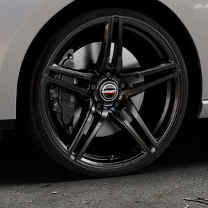 Borbet XRT black glossy Felge mit Reifen schwarz in 20Zoll Winterfelge Alufelge auf silbernem Seat Leon Typ 5F ST Facelift ⬇️ mit 15mm Tieferlegung ⬇️ Industriehalle 1 Thumbnail
