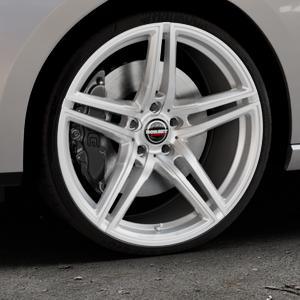 Borbet XRT brilliant silver Felge mit Reifen silber in 20Zoll Winterfelge Alufelge auf silbernem Seat Leon Typ 5F ST Facelift ⬇️ mit 15mm Tieferlegung ⬇️ Industriehalle 1 Thumbnail