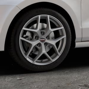 Borbet Y titan matt Felge mit Reifen grau in 16Zoll Winterfelge Alufelge auf silbernem Volkswagen (VW) Polo V Typ 6C 1,0l 44kW (60 PS) 55kW (75 1,2l TSI 66kW (90 81kW (110 1,4l TDI 77kW (105 110kW (150 70kW (95 ⬇️ mit 15mm Tieferlegung ⬇️ Industriehalle 1 Thumbnail