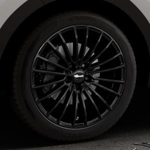 Brock B24 schwarz lackiert Felge mit Reifen in 19Zoll Winterfelge Alufelge auf silbernem Kia Sportage IV Typ QL QLE ⬇️ mit 15mm Tieferlegung ⬇️ Industriehalle 1 Thumbnail
