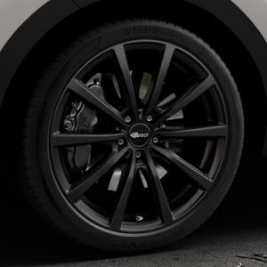 Brock B32 schwarz-matt lackiert Felge mit Reifen in 20Zoll Winterfelge Alufelge auf silbernem Kia Sportage IV Typ QL QLE ⬇️ mit 15mm Tieferlegung ⬇️ Industriehalle 1 Thumbnail