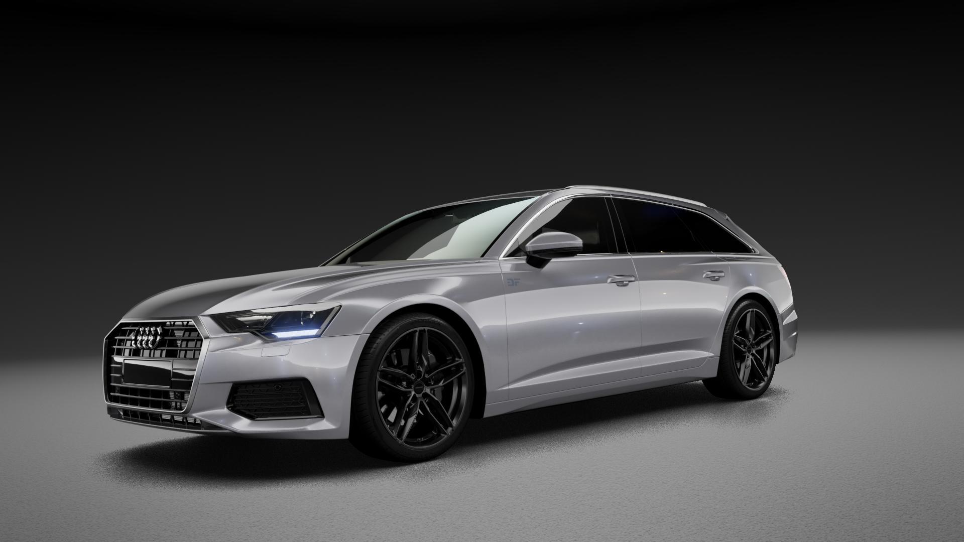 CARMANI 13 Twinmax black Felge mit Reifen schwarz in 20Zoll Winterfelge Alufelge auf silbernem Audi A6 Typ F2/C8 (Avant) 3,0l 45 TDI quattro 170kW Mild-Hybrid (231 PS) 50 210kW (286 55 TFSI 250kW (340 2,0l 40 150kW (204 155kW (211 180kW (245 35 120kW (163 S6 257kW (349 30 100kW (136 ⬇️ mit 15mm Tieferlegung ⬇️ Neutral_mid_max5300mm Fr