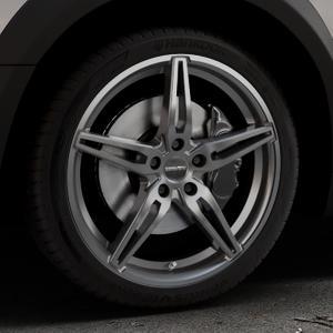 CARMANI 15 Oskar hyper gun Felge mit Reifen silber in 19Zoll Winterfelge Alufelge auf silbernem Peugeot 508 Typ 8 RXH Facelift ⬇️ mit 15mm Tieferlegung ⬇️ Industriehalle 1 Thumbnail