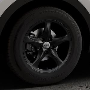 CMS C12 Complete Matt Black Felge mit Reifen schwarz in 16Zoll Winterfelge Alufelge auf silbernem Kia Sportage IV Typ QL QLE ⬇️ mit 15mm Tieferlegung ⬇️ Industriehalle 1 Thumbnail